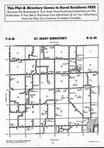 St. Marys T4N-R5W, Hancock County 1991 Published by Farm and Home Publishers, LTD